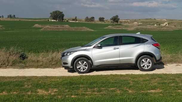 אם הונדה HRV גדול עליכם, הונדה הודיעה כי תייצר רכב פנאי שטח קטן עוד יותר. צילום: רוני נאק