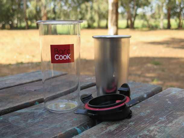 מים רותחים המון! בישול קפה וחימום מזון ללא אש. ערכה קטנה, קלת משקל ומאד חכמה. צילום: רוני נאק