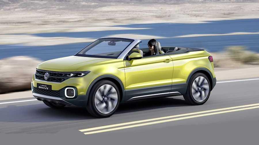 פולקסווגן מציגה רכב פנאי שטח עם גג נפתח. השלב הבא באבולוציה גל רכבי הפנאי הקטנים. הפעם על בסיס פולקסווגן פולו. צילום: VW