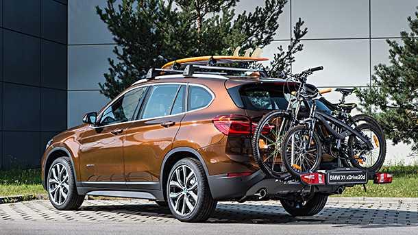 מבחן רכב ב.מ.וו X1. עם אופניים כל מכונית נראית יותר טוב. ב.מ.וו X1 החדש טוב יותר מקודמו בכל פרמטר. צילום: ב.מ.וו