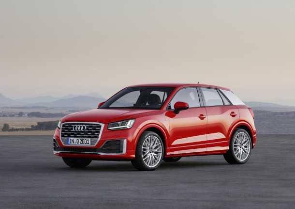 Audi Q2 - אודי מציגה ג'יפון עוד יותר קומפקטי. יגיע לישראל בקיץ 2016. צילום: אודי