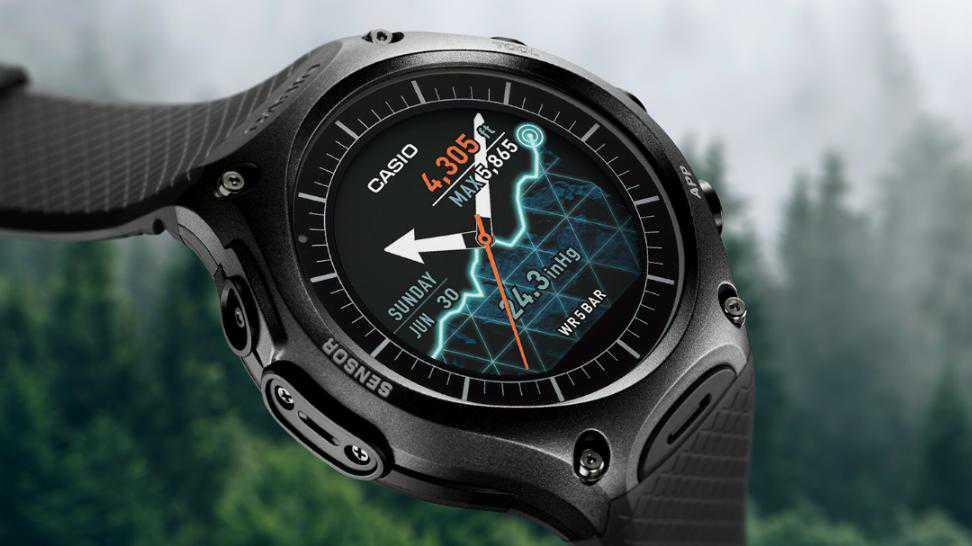 שעון שטח אנדרואיד מ-CASIO. סופסוף שעון אנדרואיד שלא נראה חנוני ומתאים גם בשבילנו! צילום: קסיו