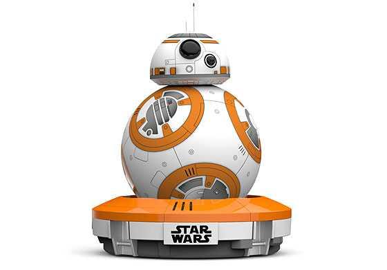 """רובוט BB8 ממלחמת הכוכבים יכול להיות שלכם. צילום: יח""""צ"""