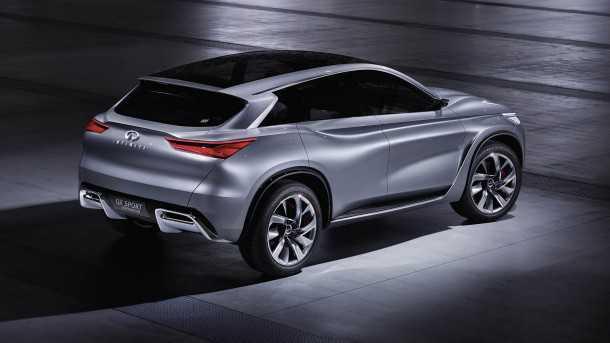 """אינפינטי QX קונספט - רכב תצוגה """"מבושל"""" המבשר את המראה של הדור הבא לרכבי הפנאי שטח מאינפיניטי. צילום: אינפיניטי"""
