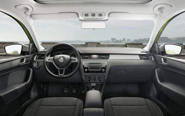 מבחן רכב סקודה ספייסבק סקאוטליין. עיצוב תכליתי זוכה לחבילת איבזור ובטיחות עשירה למדי ביחס למחיר. צילום: סקודה