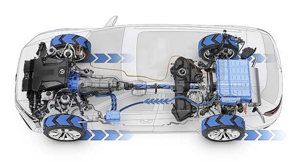 פולקסווגן T PRIME. גדול מטיגואן קטן מטוארג. וגם היברידי! צילום: VW