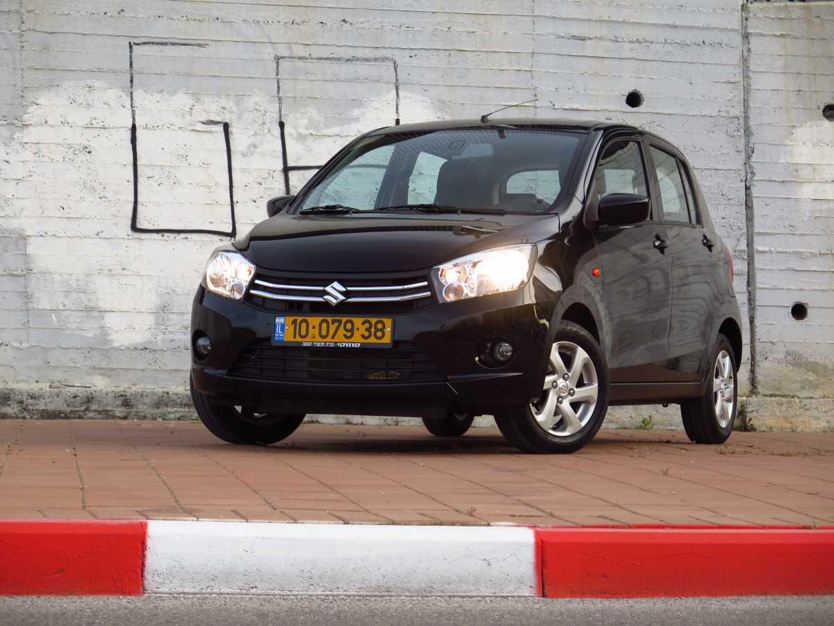 מבחן רכב סוזוקי סלריו. רק 59 אלפי שקלים ואתם מקבלים מכונית קטנה וחמודה עם מזגן נהדר! צילום: רוני נאק