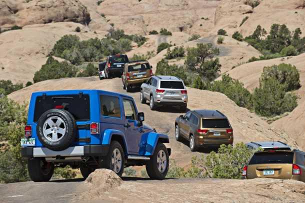 קריאת תיקון של קרוב ל-4.5 מליון מכוניות של קרייזלר בשל כשל בכריות האוויר. רלוונטי גם לדגמים שבישראל. צילום: JEEP