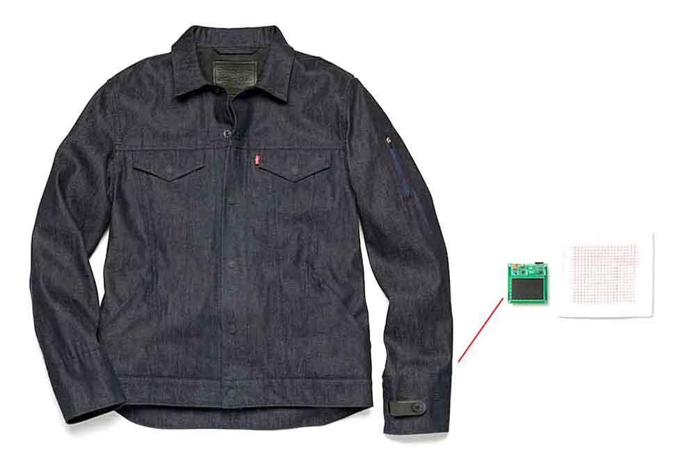 הטטכנולוגיה של גוגל הביצוע של ליוויס. בגד חכם ומקורשר ראשון יצא לשוק בתחילת השנה הבאה. צילום: גוגל