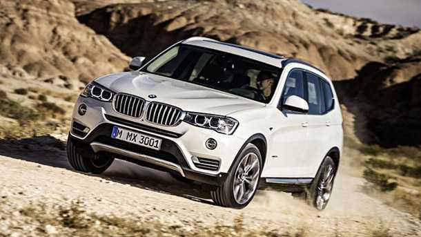 ב.מ.וו X3 מובילה את מכירות רכבי הפנאי שטח של ב.מ.וו עם קרוב ל-39 אלף יחידות שנמסרו ברבעון הראשון של 2016. צילום: BMW