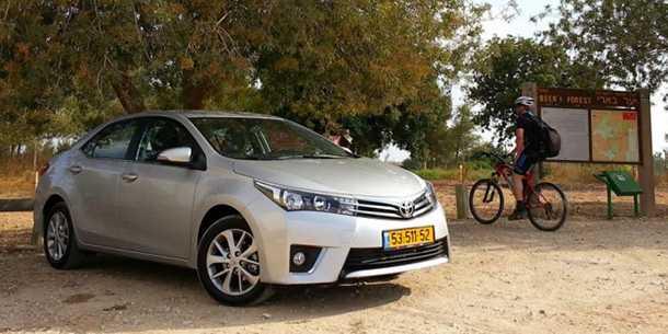טויוטה קורולה - מבוקשת גם בקרב גנבי הרכב - שניה בדירוג. צילום: רוני נאק