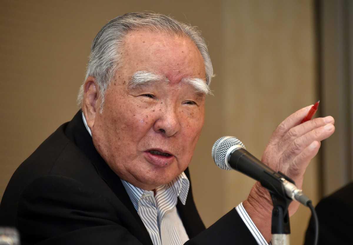 """מנכ""""ל סוזוקי - אוסאמו סוזוקי הודיע הבוקר כי יפרוש מתפקידו לנוכח חקירת שלטונות יפן בדבר זיוף בדיקות הזיהום. צילום: סוזוקי"""