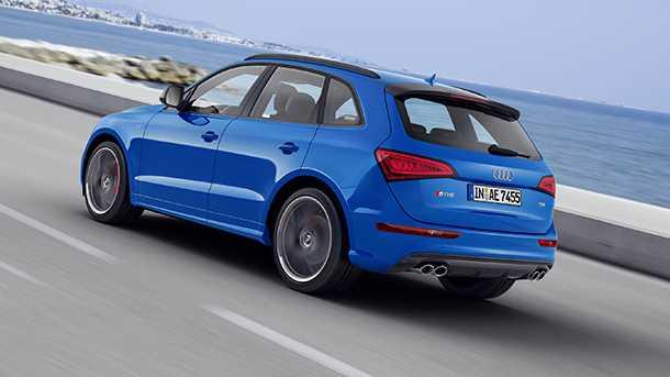 Audi SQ5 TDI plus - נראה יפה לא? אז שמנו עוד תמונה מזווית אחרת. צילום: אאודי