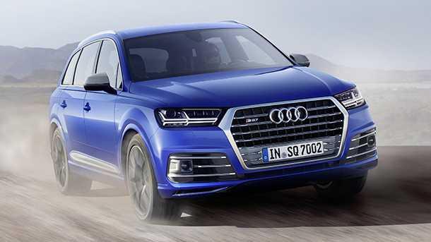 Audi SQ7 TDI קליפורניה לא מקבלת את הצעה לתיקון של זיהום הדיזלים הגדולים של VW - באין פתרון תארץ החברה לרכוש 85,000 כלי רכב מלקוחות. צילום: AUDI