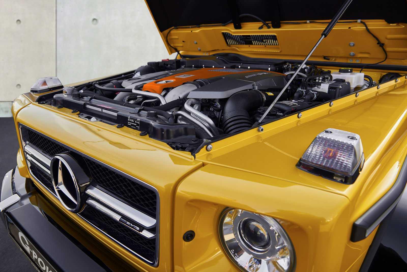 ערכת שיפורי המנוע של G POWER תוסיף עוד 75 כוחות סוס למנוע AMG מבלי לפתוח מכסה מנוע. צילום: G POWER