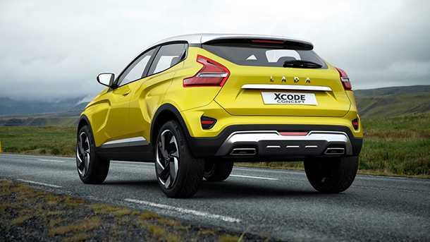 """לאדה X CODE. רכב תצוגה """"בשל"""" של לאדה הרוסית. האם מתבסס על רכיבים מוכרים של רנו/ניסאן? סביר להניח שכן. אצלנו בשנה הבאה. צילום: לאדה"""