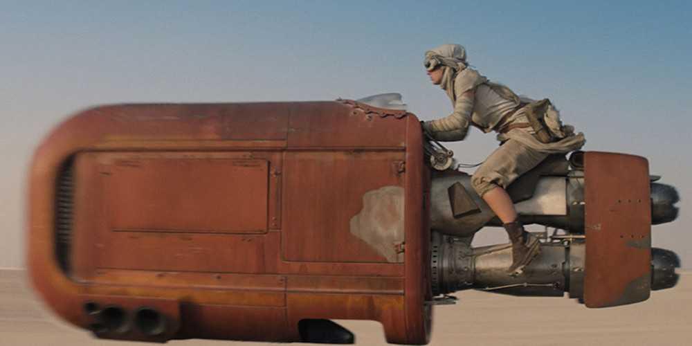 שיתוף פעולה בין ניסאן ל-לוקאספילם לקראת הפרק הבא בסדרת מלחמת הכוכבים. צילום מתוך פרק 7. לוקאספילם