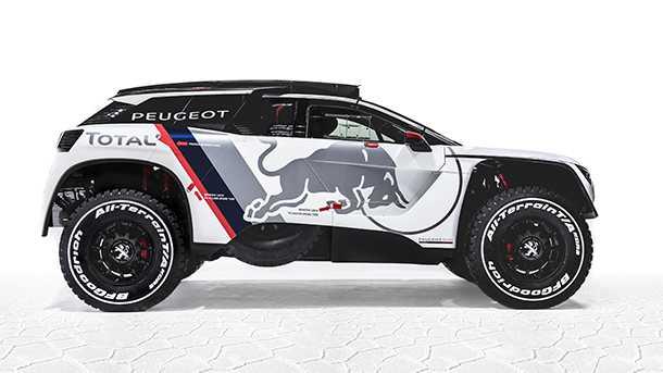 רכב מירוצים חדש לראלי דקאר Peugeot 3008 DKR. צילום: פיז'ו