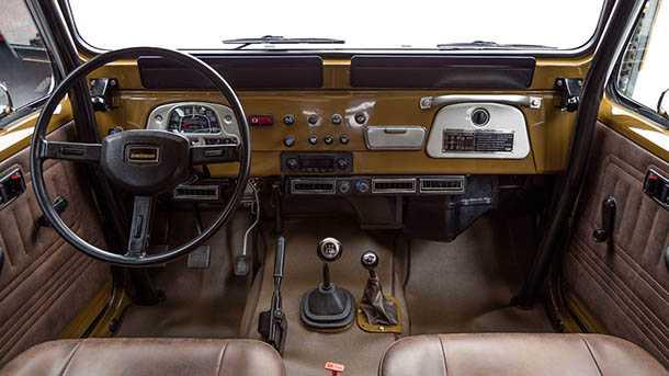 FJ קומפאני שיחזרה את טויוטה לנד קרוזר הזה משנת 1981 למצב חדש+! המחיר 160 אלף דולרים. צילום: טויוטה FJ