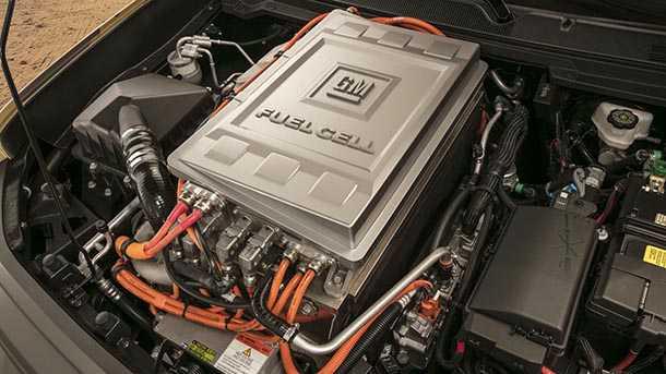 טנדר שברולט קולראדו ZH2. עם מנוע חשמלי ומוזן מתאי דלק מימניים. רכב סער ותמיכה בחתימה נמוכה? צילום: שברולט