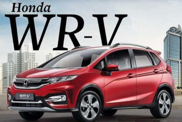 """הונדה WR-V כבר מוכרת בשוק ההודי. שם היא גרסת ה""""פנאי"""" המוקשחת של הונדה ג'אז. צילום: הונדה"""