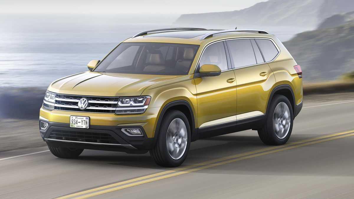פולקסווגן אטלס. רכב פנאי גדול ראשון של פולקסווגן לארצות הברית. עם 8 מושבים ומנועי TSI. צילום: VW