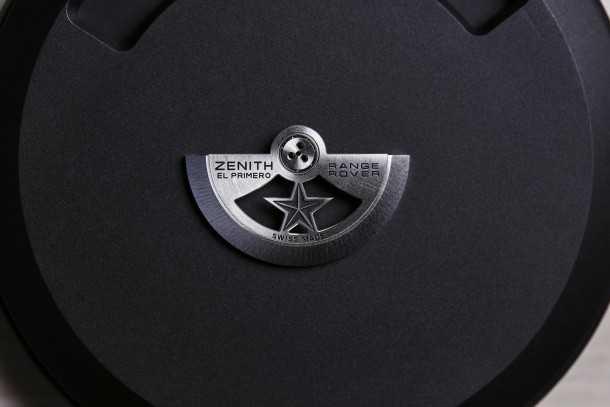 זה הכל במשקולת. שיתוף פעולה בין ריינג' רובר לשעוני זניט. צילום: זניט