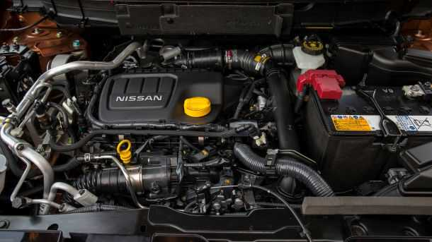 מבחן דרכים ניסאן אקסטרייל. הוא אולי לא המנוע הכי פוטוגני - אבל התפקה נאה וצריכת הדלק מצויינת. צילום: ניסאן