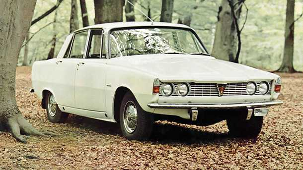 בשנת 1964 זו הייתה מכונית השנה - רובר 2000. צילום: רובר
