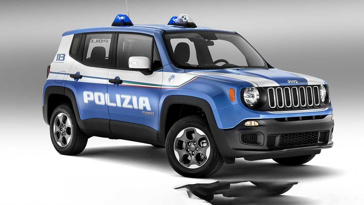 ג'יפ רנגייד מצטרף למשטרת איטליה. צילום: ג'יפ