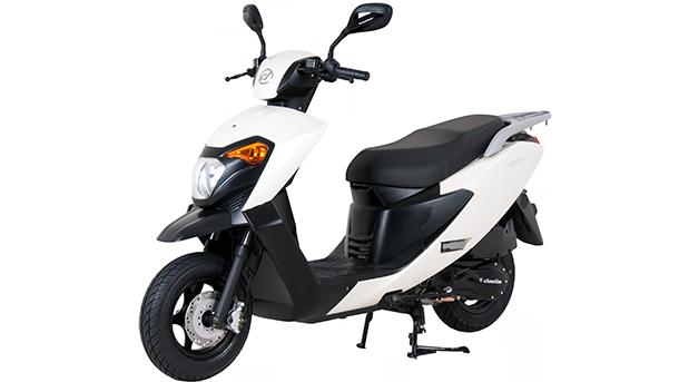 """דיאלים דארט קטנוע 125 סמ""""ק בעיצוב מודרני ומחיר של 9000 שקלים צילום: דיאלים"""
