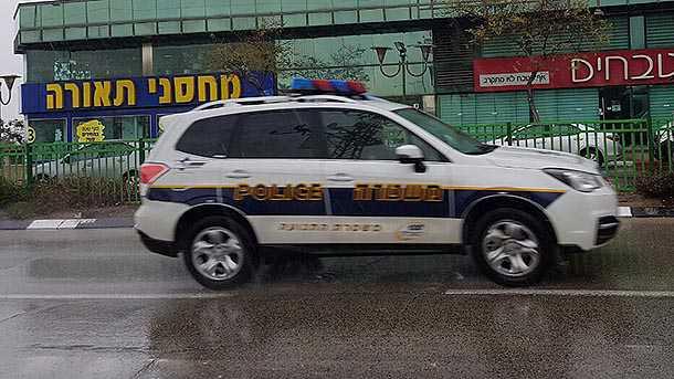 משטרת ישראל מצטיידת בניידות סובארו פורסטר. צילום: שטח