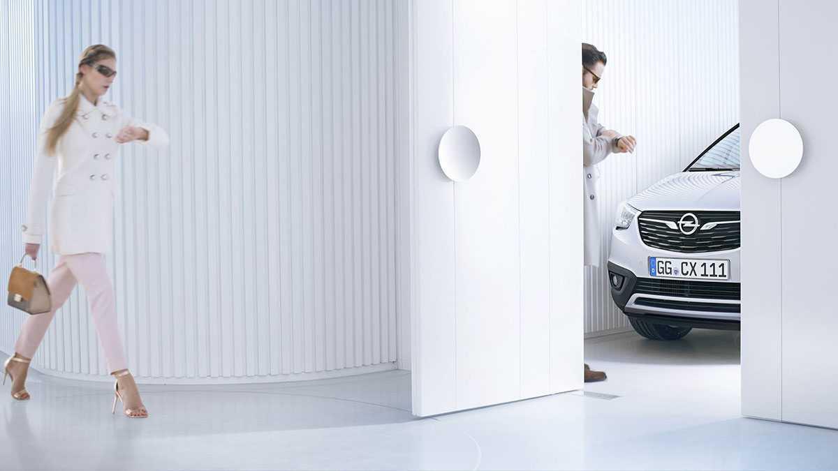 טיזר מעורר לרכב פנאי חדש של אופל. אופל קרוסלנד שמגיע לקבוצת הרכב הרחבה של קיה ספורטאז. צילום: אופל