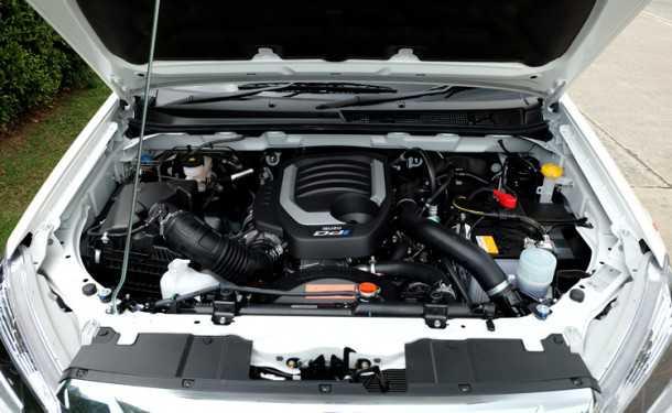 טנדר איסוזו דימקס משתדרג עם מנוע חדש, תוספת איבזור מתקדם ומערכת הנעה כפולה גמישה יותר. בקרוב גם אצלנו. מנוע 1.9ל' יהיה בעיקר חסכוני יותר ומזהם פחות מהמנוע היוצא - בקנה גם תיבת הילוכים אוטומטית זריזה יותר ועם יותר יחסי העברה. צילום: איסוזו