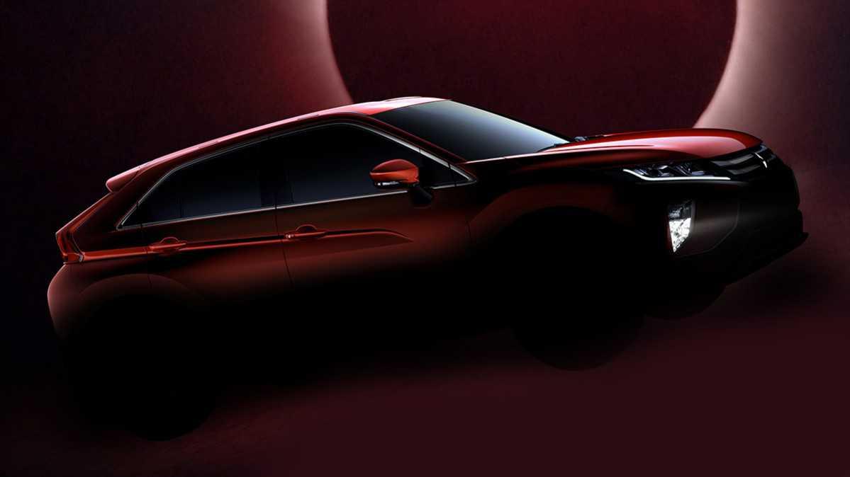 מיצובישי אקליפס קרוס. רכב הפנאי הקומפקטי החדש של מיצובישי אשר יוצג בקרוב בתערוכת ז'נבה. צילום: מיצובישי