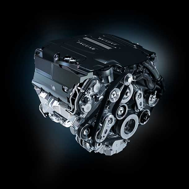 """אולי תמצאו כמה כאלו אצל סוחרי חלקי החילוף הגנובים...מנוע 5.0ל' מוגדש עם 570 כ""""ס. במחיר מציאה. צילום: יגואר"""