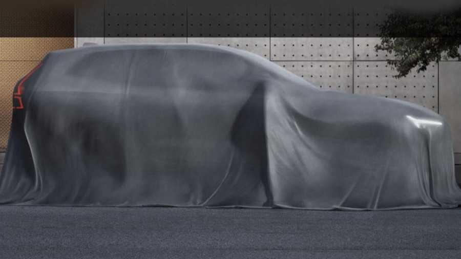 קדימון שלא לומר טיזר של וולוו XC60 החדש. חשיפה בימים הקרובים בתערוכת ג'נבה. צילום: וולוו