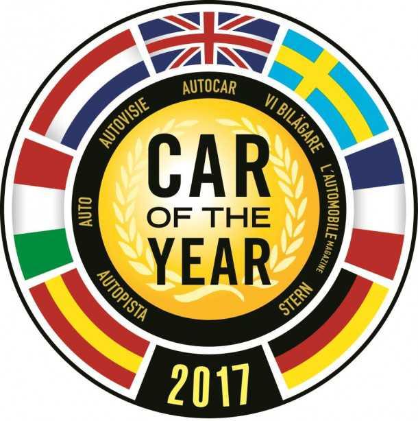 זה לוגו מכונית השנה ובו תמצאו את דגלי המדינות המשתתפות בו. צילום: COTY