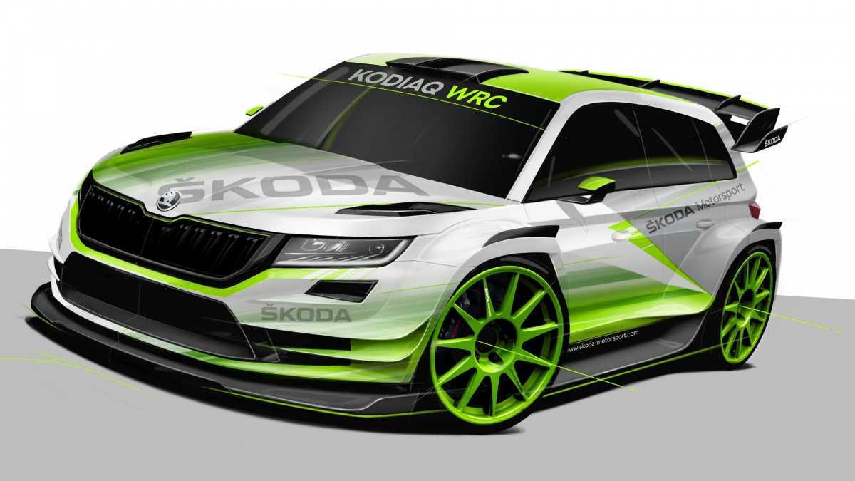 סקודה קודיאק ל-WRC ב-2018? SUV 7 מושבים לראלי עולמי? הגיוני? צילום: סקודה