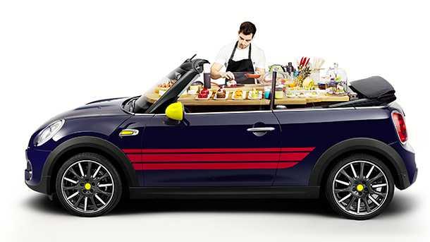 מיני ג'ון קוקר וורקס - לכל הנהגים עם חדוות בישול או לכל הבשלנים שאוהבים לנהוג. צילום: מיני