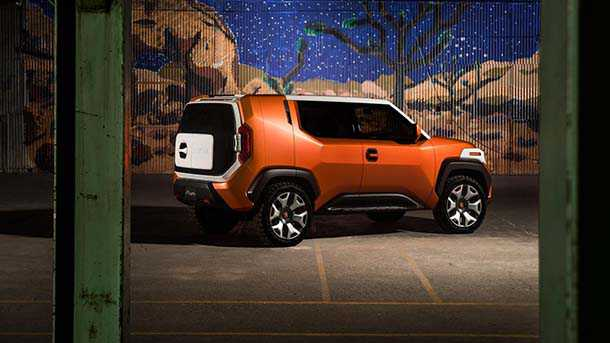 Toyota FT4x Concept רכב תצוגה מצויד ומאובזר ובעיקר קטן עם קריצה עתידית לדור רכבי השטח הקטן של טויוטה אבל ובעיקר התאמה לצרכים המקוונים של דור Y. צילום: טויוטה