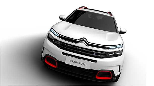 קונספט סיטרואן איירקרוס - הגיג עתידי לרכב פנאי בגודל בינוני של סיטרואן. בישראל ככל הנראה ב-2018. צילום: סיטרואן