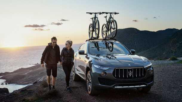 מזראטי לבנטה. SUV המתאים לבעלי אורח חיים פעיל - ועם יכולת להגיע לכל מקום ולגרור או להעמיס כל צעצוע שתרצו. צילום: מזראטי
