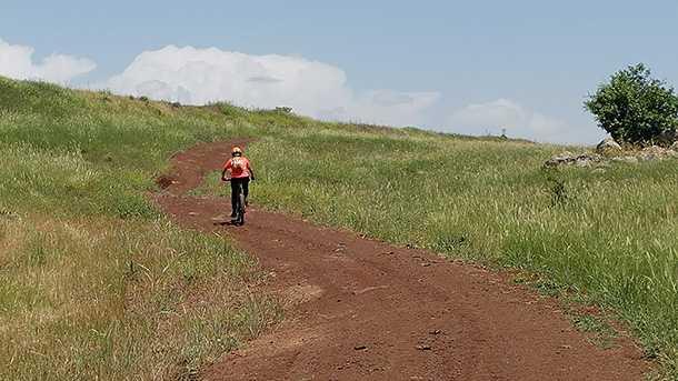 34 קילומטרים וכ-510 של טיפוס. ניווט קל והמון שמיים. צילום: רוני נאק