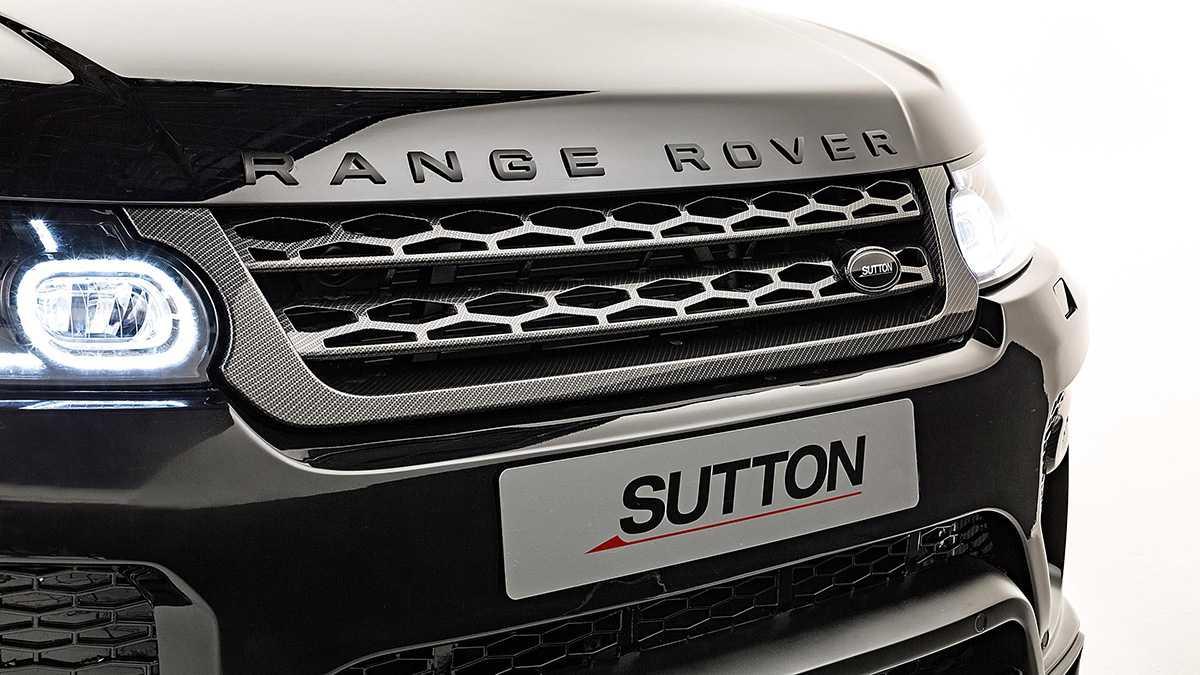 """ריינג' רובר ספורט משופר על ידי סדנת סאטון - רק 80 אלף ליש""""ט. צילום: SUTTON"""