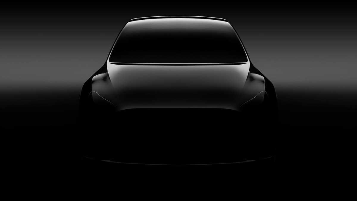 טסלה מודל Y - איור ראשוני של רכב פנאי קטן וחשמלי שייכנס ליצור ב-2019. צילום: טסלה