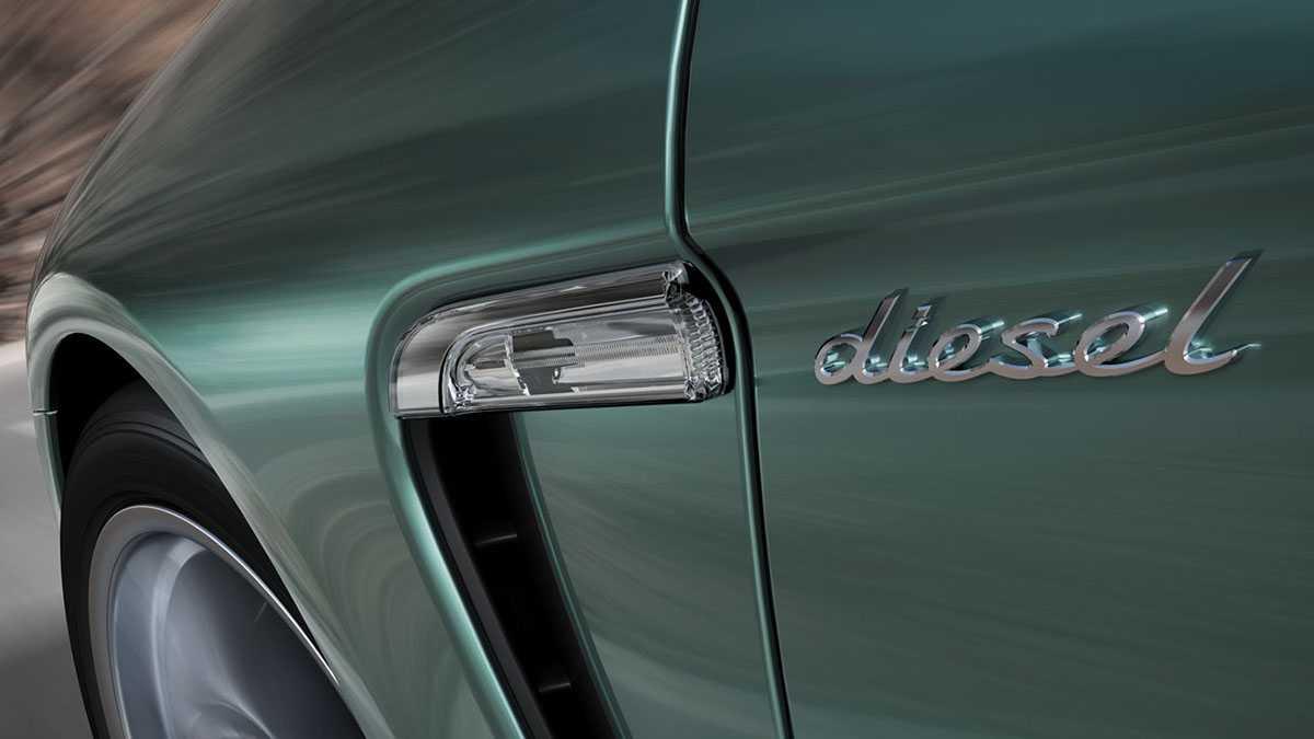 האם נחשף קרטל דיזל של יצרני הרכב הגרמניים? כאן פורשה דיזל צילום: פורשה