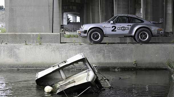 הזדמנות נדירה לשים יד על פורשה 911 נדירה שעברה הסבה לשטח. 130 אלף אירו צילום: iconcars