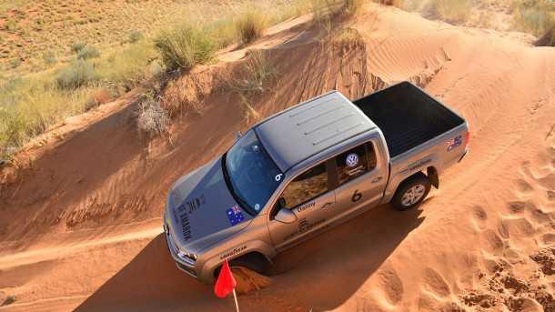לאפריקה עם פולקסווגן אמארוק V6. יהיה חזק. צילום: VW