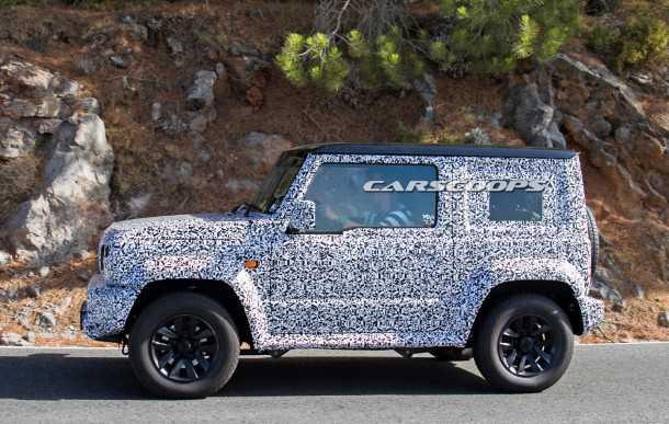 OMG! האם זה הסוזוקי ג'ימני הבא? צילום: carscoops